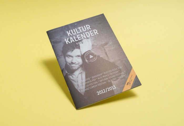 Editorial Design Magazin Kulturkalender Kandertal