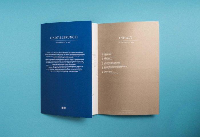 Geschäftsbericht 2009 Lindt & Sprüngli