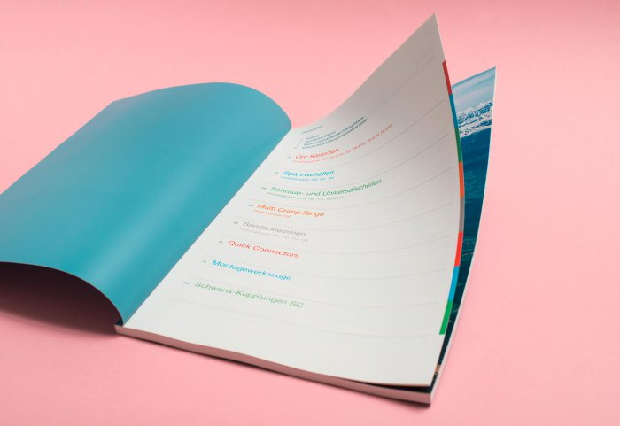 Oetiker Group Editorial Design