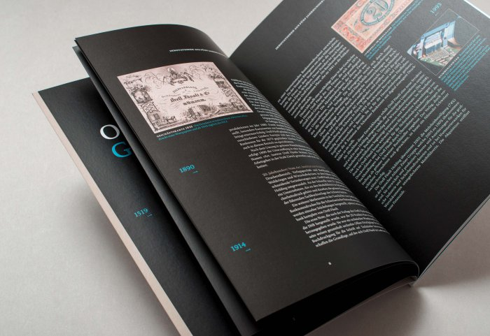 Editorial Design Unternehmensportrait ORELL FÜSSLI
