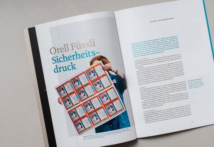 Division Sicherheitsdruck Unternehmensportrait ORELL FÜSSLI