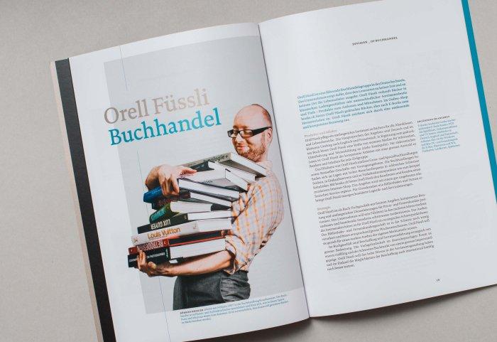 Division Buchhandel Unternehmensportrait ORELL FÜSSLI