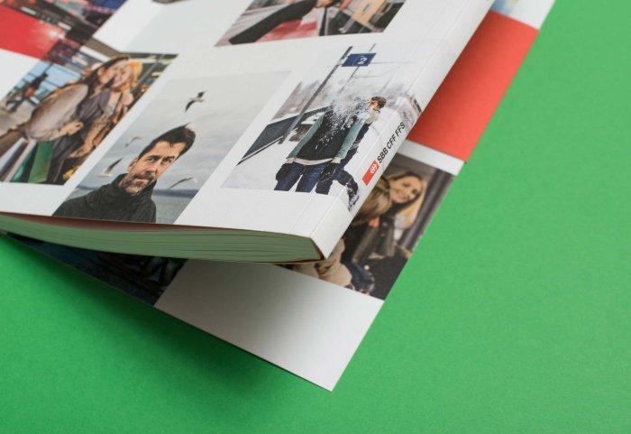 Cover Umschlag Geschäftsbericht 2011 SBB NOORD