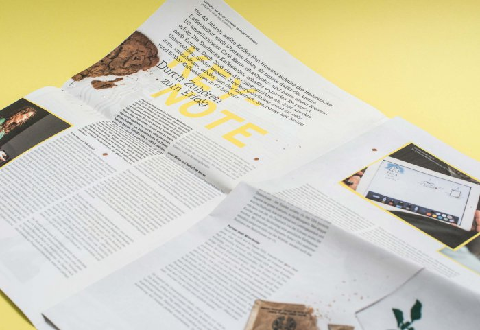 Editorial Design Magazin SWISSCOM CX-Forum
