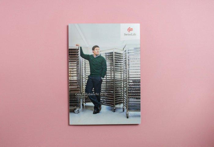 Cover Geschäftsbericht 2010 SWISSLIFE