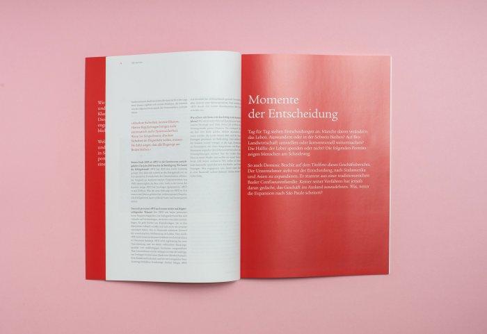 Doppelseite Geschäftsbericht 2010 SWISSLIFE