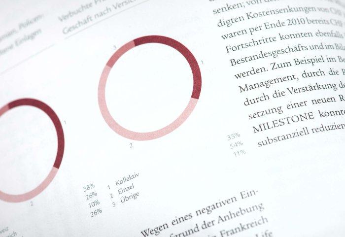 Infografik Geschäftsbericht 2010 SWISSLIFE