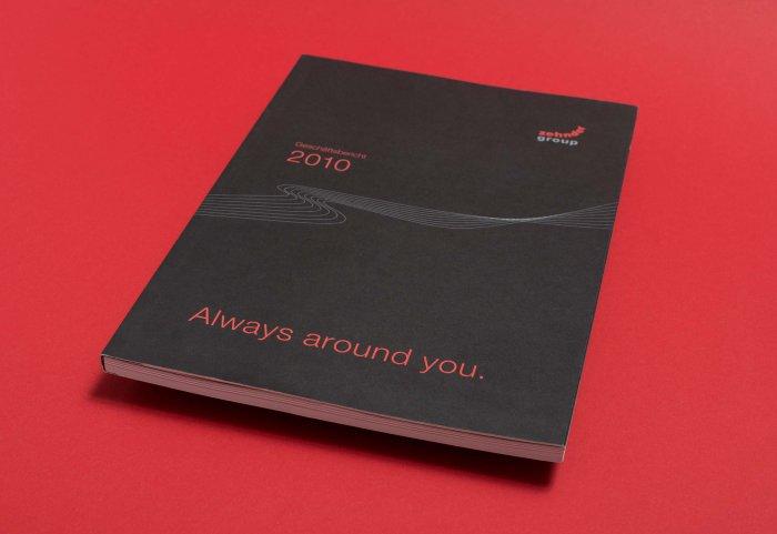 Cover Geschäftsbericht 2010 ZEHNDER