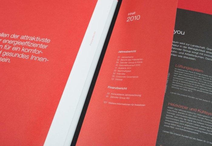 Intro Geschäftsbericht 2010 ZEHNDER