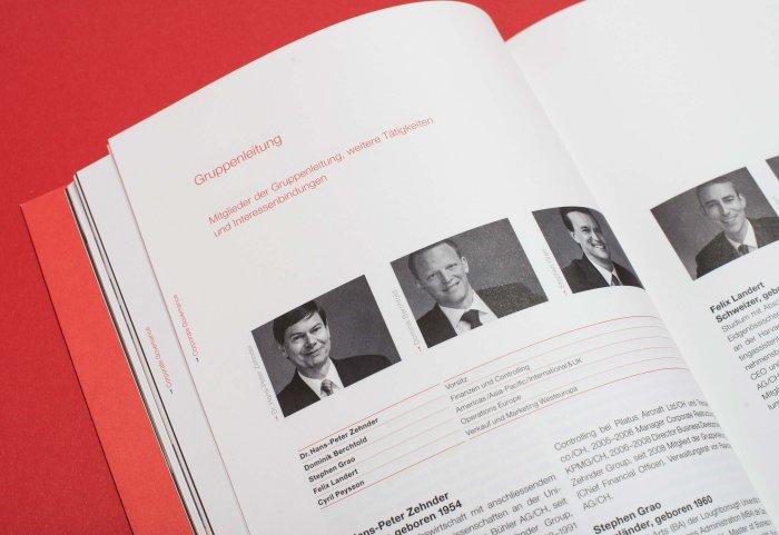 CG Geschäftsbericht 2010 ZEHNDER