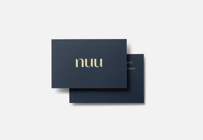 Nuu Massage Branding