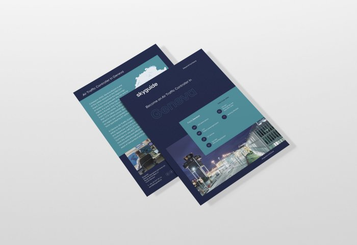 Skyguide Branding Editorial Design