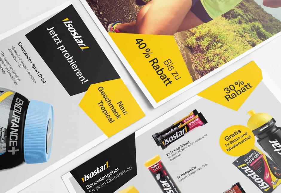 Isostar PR Werbung und Inserate