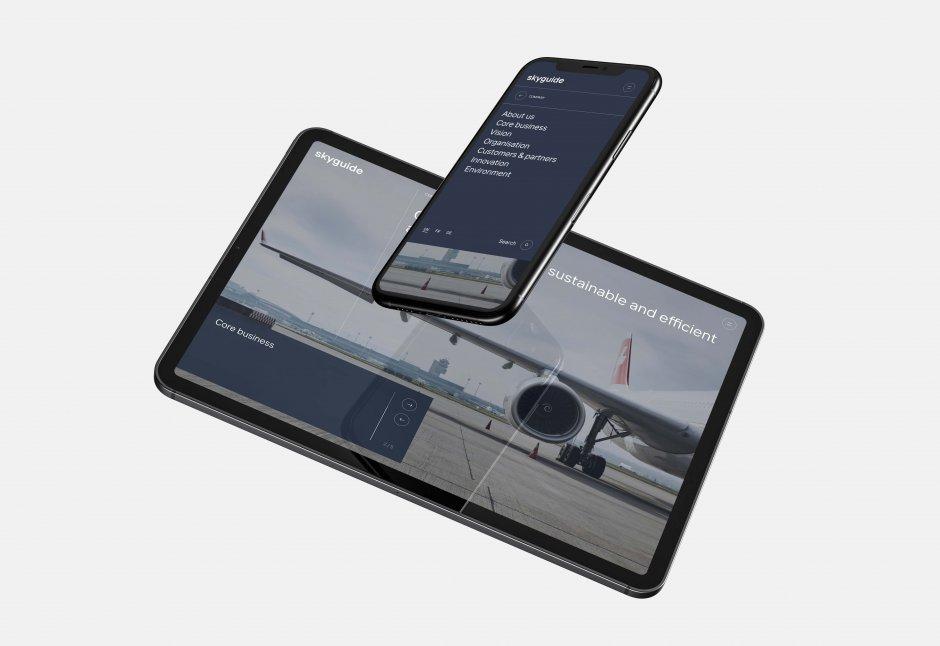 Skyguide Webdesign