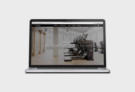 Responsive Webdesign INDIGO Fitness Club