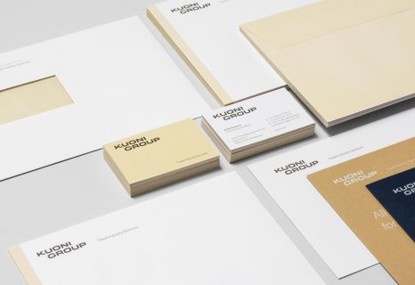 Kuoni Group Corporate Design Branding