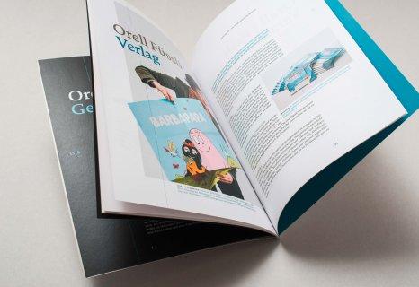 Orell Füssli Imagebroschüre, Unternehmensportrait