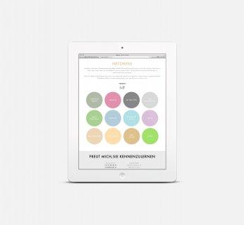 NICOLE TRASATTI Markenkommunikation Responsive Webdesign